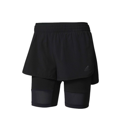 Short Fitness_Mujer_ADIDAS 2in Long