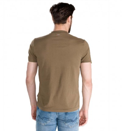 Camiseta M/c Casual_Hombre_NAPAPIJRI Sevora Bright
