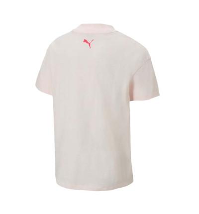 Camiseta M/c Casual_Niña_PUMA Alpha Trend Tee G