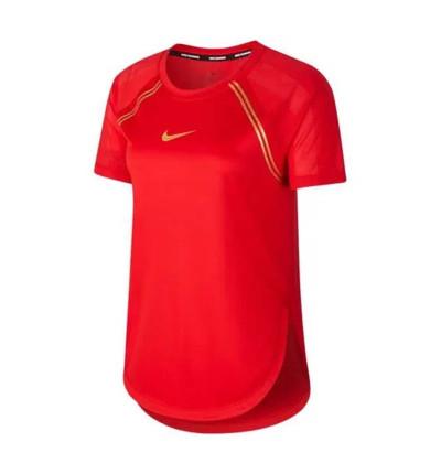 Camiseta M/c Running_Mujer_NIKE W Nk Top Ss Glam