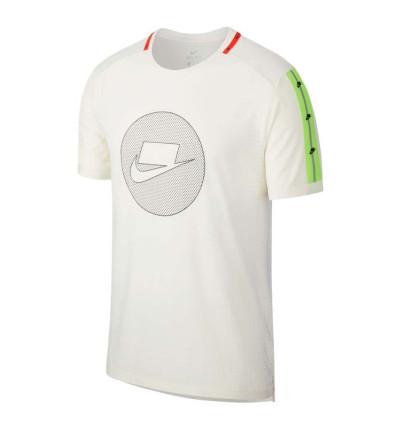 Camiseta M/c Running_Hombre_NIKE M Nk Wild Run Top Ss