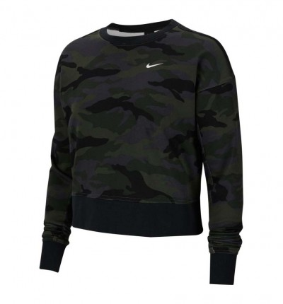 Sudadera Fitness_Mujer_NIKE W Nk Dry Get Fit Fc Cw Pp2 Cam