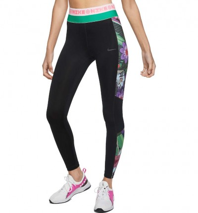 Mallas Largas Running_Mujer_NIKE Icon Clash