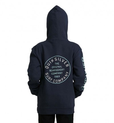 Hoodie Sudadera Capucha Casual QUIKSILVER Cloud Breaker Hood Youth