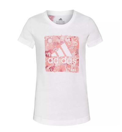 Camiseta M/c Casual_Niña_ADIDAS Jg Mh Bos Box