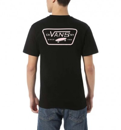 Camiseta M/c Casual_Hombre_VANS Mn Full Patch Back Ss