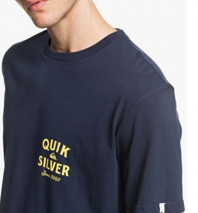 Camiseta M/c Casual QUIKSILVER Drum Therapy Ss