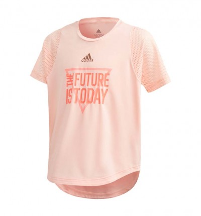 Camiseta M/c Fitness Niña The Future Today Aeroready