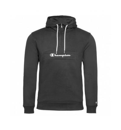 Hoodie Sudadera Capucha Casual_Hombre_CHAMPION Hooded Half Zip Sweatshirt