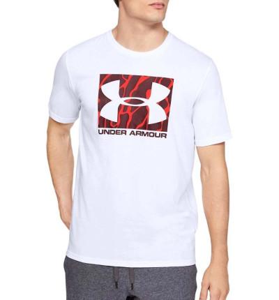 Camiseta M/c Casual_Hombre_UNDER ARMOUR Camo Boxed Logo Ss