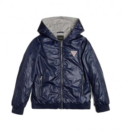 Chaqueta Casual_Niño_GUESS Unisex Hooded Ls Jacket