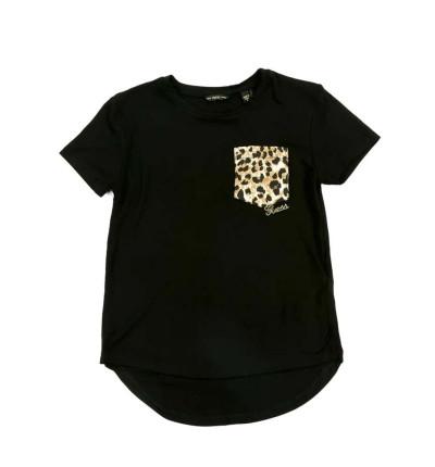 Camiseta M/c Casual_Niña_GUESS High Low Str.viscose Ss T-shir