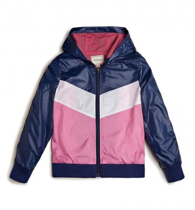Chaqueta Casual_Niña_GUESS Hooded Ls Active Top W/zip