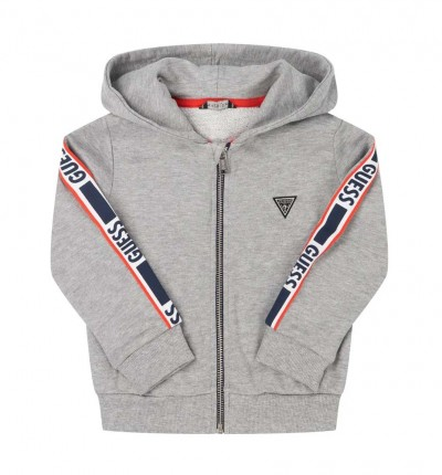 Chaqueta Casual_Niño_GUESS Hooded Ls Active Top W/zip