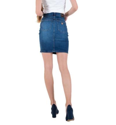 Falda Casual_Mujer_GUESS Asia Midi Skirt