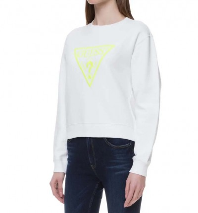 Sudadera Casual_Mujer_GUESS Neon Fleece