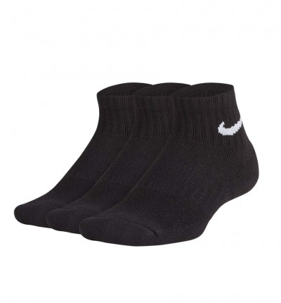 Calcetines Casual_Niño_NIKE Kids´cushioned Quarter Training