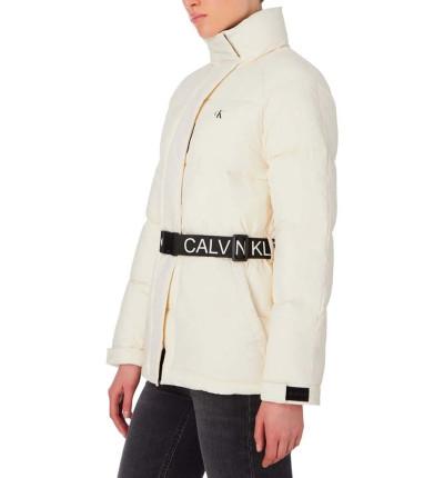 Anorack Casual_Mujer_CALVIN KLEIN Waisted Logo Puffer