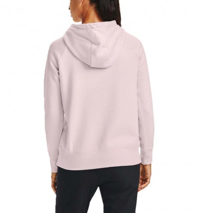 Hoodie Sudadera Capucha Casual_Mujer_UNDER ARMOUR Rival Fleece Logo Hoodie