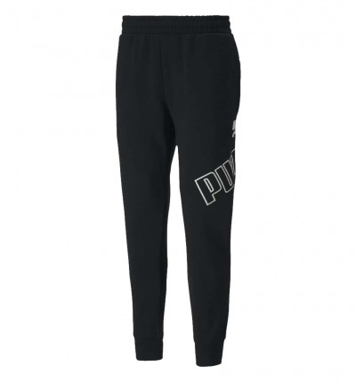 Pantalón Casual_Hombre_PUMA Big Logo Pants Fl Cl