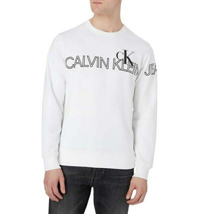 Sudadera Casual_Hombre_CALVIN KLEIN Outline Logo Crew Neck