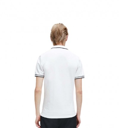 Polo Casual_Hombre_CALVIN KLEIN Tipping Slim Polo