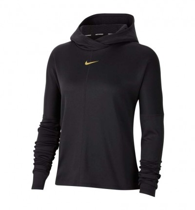 Camiseta M/l Running_Mujer_NIKE Icon Clash Element Top