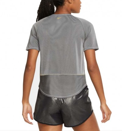 Camiseta M/l Running_Mujer_NIKE Icon Clash Women´s Short Sleeve