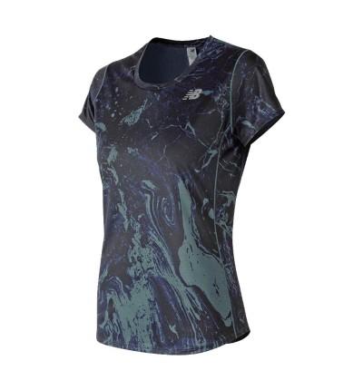 Camiseta M/c Running_Mujer_NEW BALANCE Acelerate Grafic