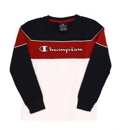 Sudadrera M/l Casual_Niño_CHAMPION Long Sleeve T-shirt