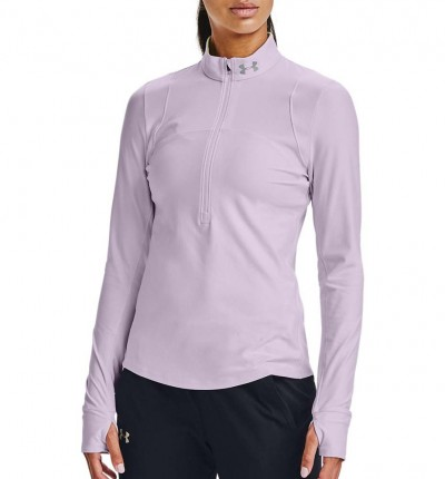 Sudadera Running_Mujer_UNDER ARMOUR Qualifier Half Zip