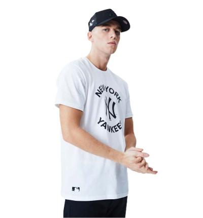 Camiseta M/c Casual_Hombre_NEW ERA Mlb Tee Neyyan Whi