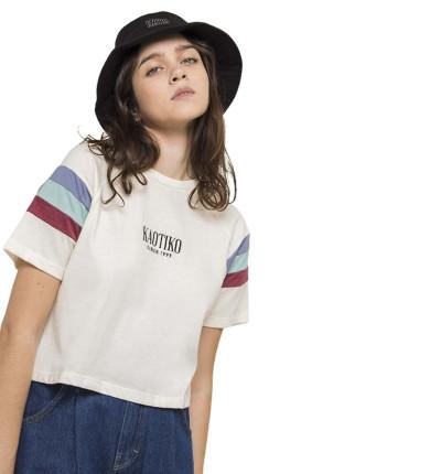 Camiseta M/c Casual_Mujer_KAOTIKO M/c Maya