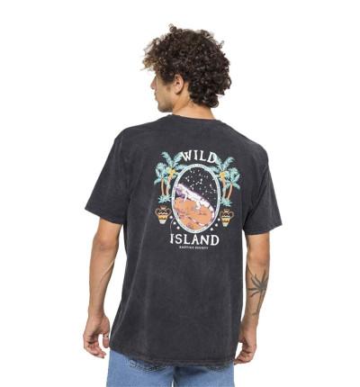 Camiseta M/c Casual_Hombre_KAOTIKO M/c Tie Dye Wild