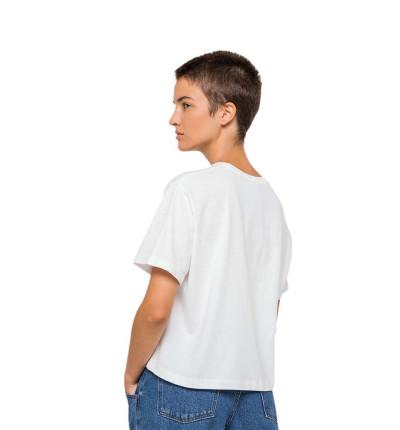Camiseta M/c Casual_Mujer_KAOTIKO M/c Rose