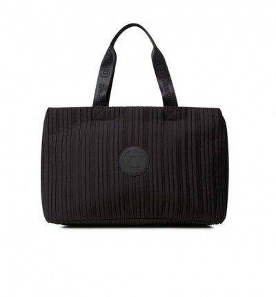 Bolso Casual_Mujer_DESIGUAL Duffle Bag Pleats