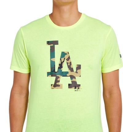 Camiseta M/c Casual_Hombre_NEW ERA Mlb Infill Team Logo Tee Losdod
