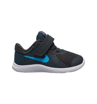 Zapatillas Running_bebe_nike Revolution 4 Toddler Shoe Boys 22 Azul Marino