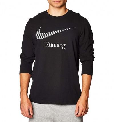Camiseta M/l Running_Hombre_NIKE M Nk Dry Tee Ls Dfct Swsh Run