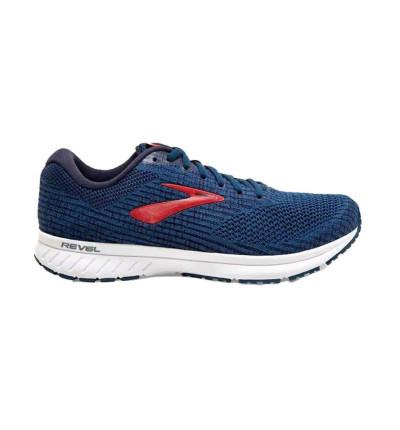 Zapatillas Running_hombre_brooks Revel 3 M 42.5 Azul