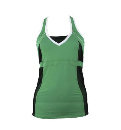 Camiseta Sin Mangas Fitness_Mujer_NAFFTA Camiseta Asas