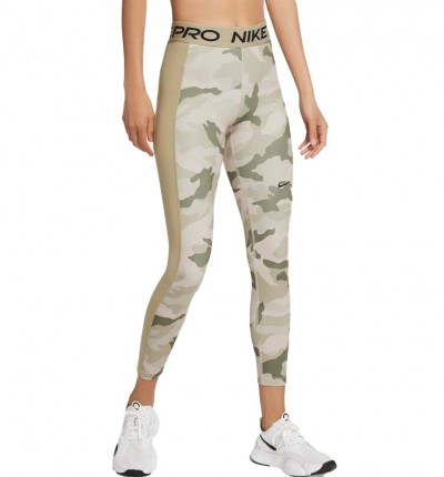 Mallas Largas Fitness_Mujer_Nike Pro Women´s 7/8 Camo Tights