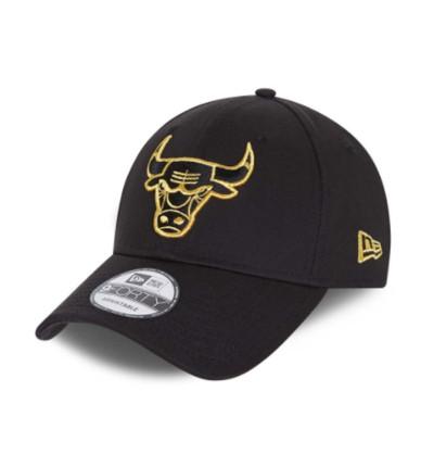 Gorra Casual _Hombre_ NEW ERA 9Forty Metallic Logo Chicago Bulls Cap