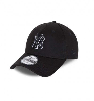 Gorra _Casual Hombre_NEW ERA 9FORTY New York Yankees Black Base Snapback