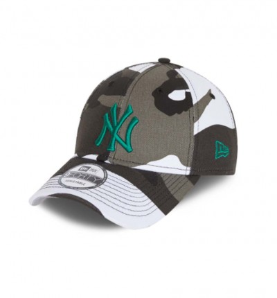 Gorra Casual_Hombre_NEW ERA 9FORTY New York Yankees All-Over White Camo Cap