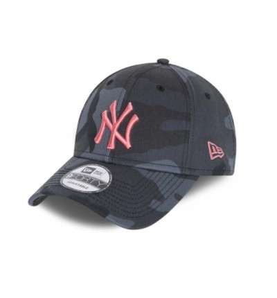 Gorra Casual_Hombre_NEW ERA 9FORTY New York Yankees Rosa All-Over Camo Cap