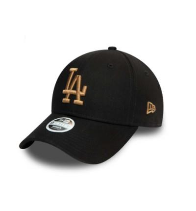 Gorra Casual Hombre NEW ERA 9FORTY LA Dodgers League Essential Negro Cap