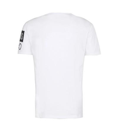 Camiseta M/c Casual_Hombre_CALVIN KLEIN Mirror Logo Seasonal Tee Ss