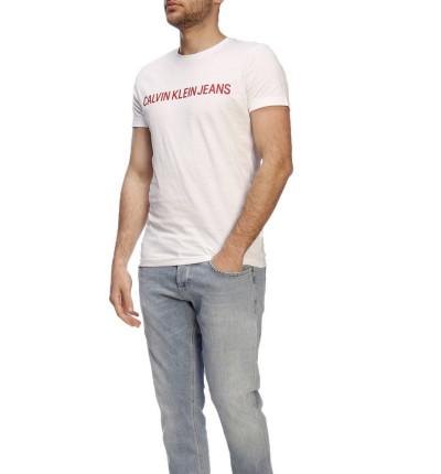 Camiseta M/c Casual_Hombre_CALVIN KLEIN Institutional Logo  Slim Ss Tee