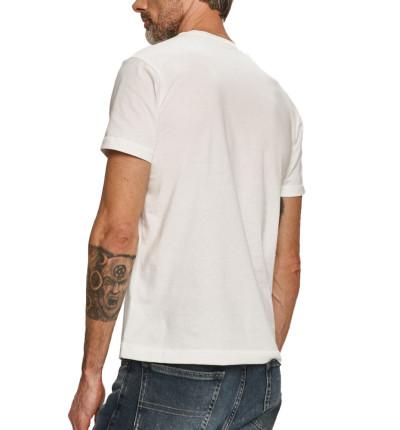 Camiseta M/c Casual_Hombre_CALVIN KLEIN Vertical Ck Panel Tee